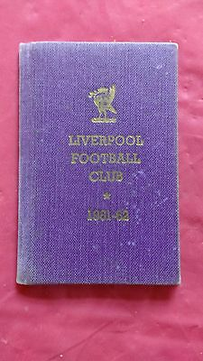 Liverpool 1961-62 Rugby Members Ticket and Fixture Card