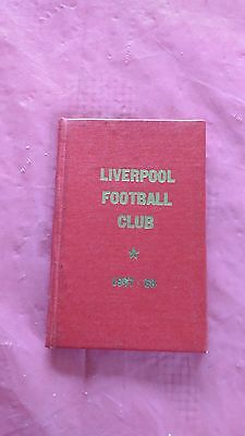 Liverpool 1967-68 Rugby Members Ticket and Fixture Card