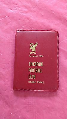 Liverpool 1974-75 Rugby Members Ticket and Fixture Card