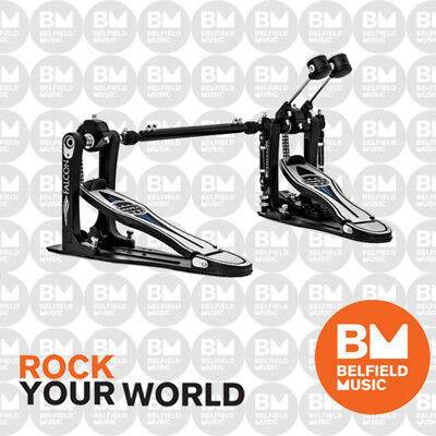 Mapex PF1000TW Falcon Series Double Kick Bass Drum Pedal Self-Adjusting Hoop