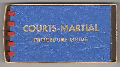 Manual:  Army Courts-Martial Oricedure Guide - 1944 with mailing carton