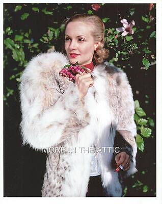 Cute N' Classy Carole Lombard Hollywood Glamour Photo #21