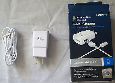 Samsung Adaptive Fast Charging Travel Charger For S7/S6/Note 5