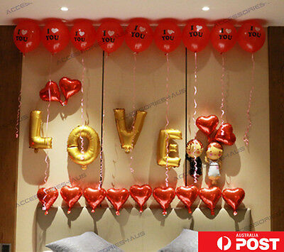 16 inch Foil Balloon Love Heart Wedding Engagement Valentine Party Decoration