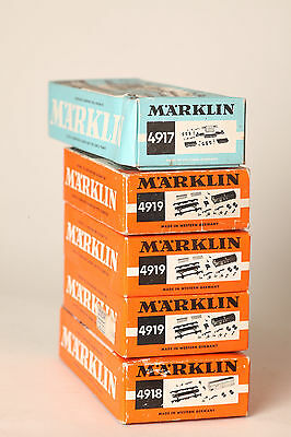 Märklin H0 9x Empty Box Empty Packaging Waggons 4917 4918 4917 4921 4914 50550
