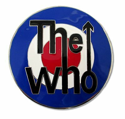 The Who! Classic Target Logo Metal Belt Buckle New!!