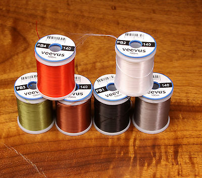 VEEVUS 140 POWER THREAD - Fly Tying by spool or lot
