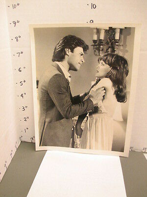 ABC TV studio show promo photo 1980s DYNASTY Pamela Sue Martin John James