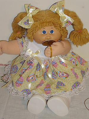 Clothes for Cabbage Patch Kids EASTER DRESS SET for 16 to 18 Inch Dolls