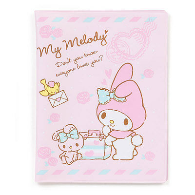 Sanrio Japan My Melody Travel Passport ID Cover Card Holder