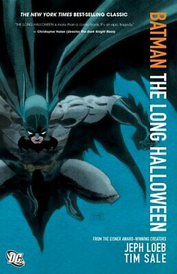 Batman The Long Halloween TP by Jeph Loeb Book The Cheap Fast Free Post