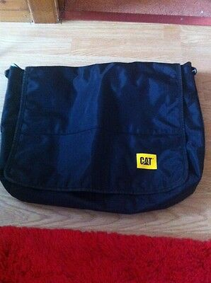Black Canvas Laptop Bag Made By CAT