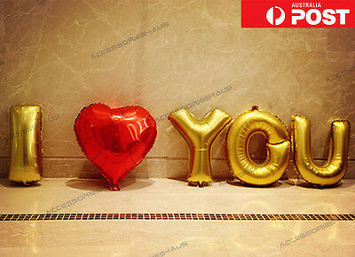 16 inch Foil Balloon I Love You Heart Wedding Engagement Party Home Decoration