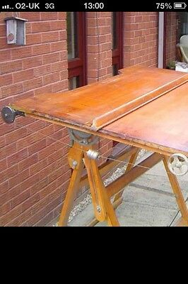 £375 BUY NOW Vintage Architects / Designers / Artists Drawing Board