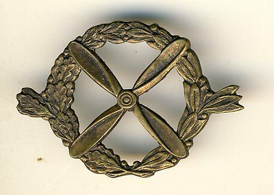French Air Force béret badge 1923-1929