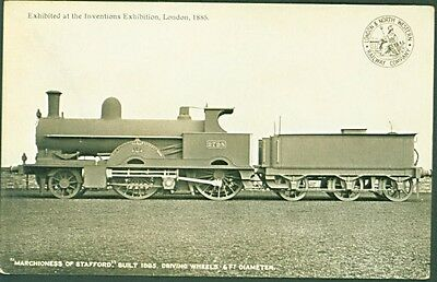 """LNWR 2-4-0 No. 2798, """"Marchioness of Stafford"""". 1904 LNWR Revised Series PC"""