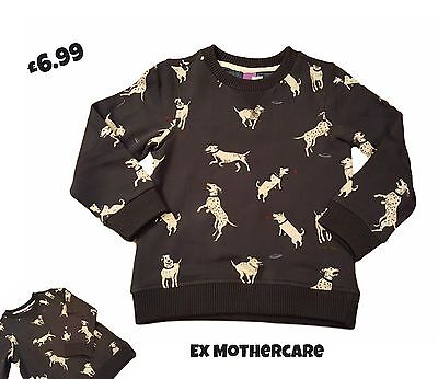 Boys Baby Sweatshirt Top Jumper Sweater Long Sleeve Casual Crew Round Neck NEW