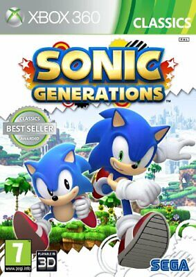 Sonic Generations - Classics (Xbox 360) - Game  SMVG The Cheap Fast Free Post