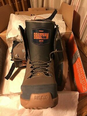 thirtytwo lashed/Bradshaw Snowboard Boot UK 12 /46.5 2017 season Used For 6 Days