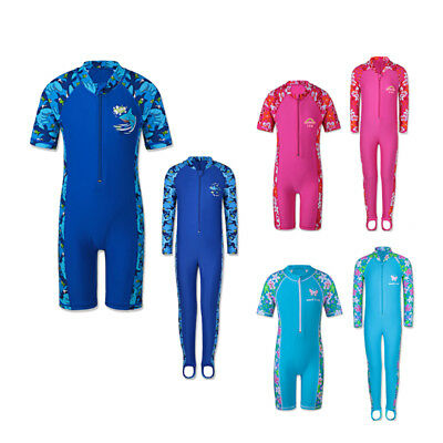 New Arrival Kid Boys Girls UV 50+ Sun Protective Swimsuit Swimming Costume 1-10Y
