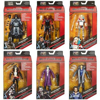 "Dc Comics Multiverse Suicide Squad 6"" Action Figure Collector Toys"