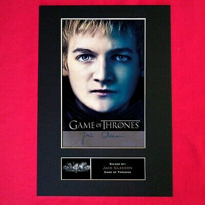 JACK GLEESON Mounted Signed Photo Reproduction Autograph Print A4 349