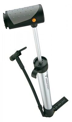 Topeak Mountain Morph Bike / Cycle Hand Pump PV / SV 160psi  Silver