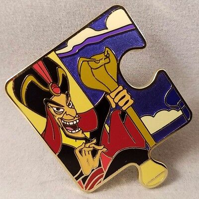 Disney Pin Aladdin Character Connection Mystery Collection Puzzle Jafar