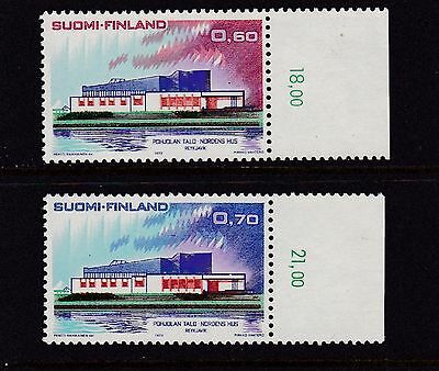 Finland #527-528 Mnh Nordic Cooperation Issue