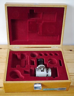 Olympus Microscope / Camera Shutter Unit PM10-M in Original Wooden Case