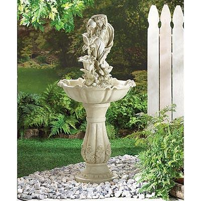 Fairy Maiden Water Fountain Electric Pump