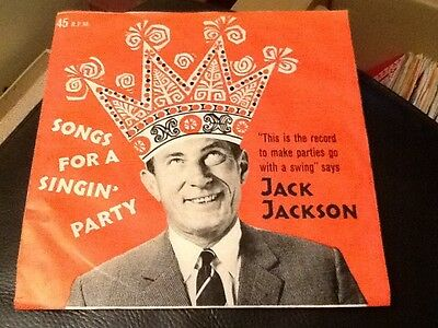 JACK JACKSON . SONGS FOR A SINGIN PARTY . HEINZ 57 Promotional . AULD LANG SYNE