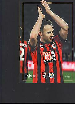 PROGRAMME - AFC BOURNEMOUTH v MNCHESTER CITY - 13 FEBRUARY 2017