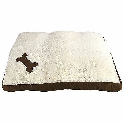 Memory Foam Pet Dog Cat Bed Cushion Warm Soft Fleece Mat Cage Kennel Lining