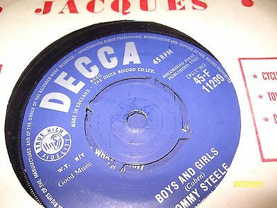 tommy steele/boys and girls