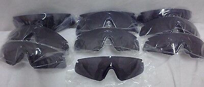 NEW!10 OEM Sawfly Sunglasses Lenses w/ Nose Piece Installed, Tactical