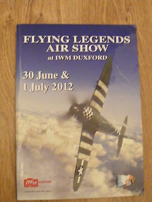 2012 Flying Legends Air Show Programme - at IWM Duxford 45 pages