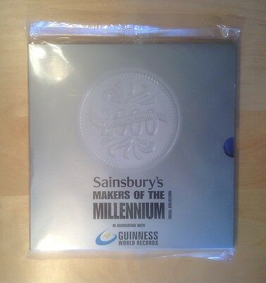 Sansbury's Makers Of Millennium Coin Book Collection Guinness World Records Bn