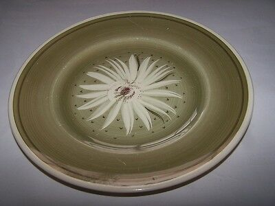 """SUSIE COOPER POTTERY FLORAL FLOWER DESIGN 10"""" PLATE 1930s"""