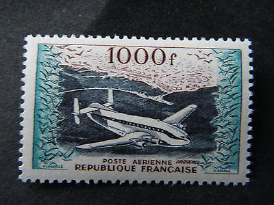 POSTE AERIENNE france - PROVENCE 1000 Fr  - NEUF avec CHARNIERE - GOMME INTACTE