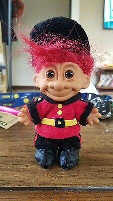 """5"""" Red Haired Russ Troll - Trolls Around the World - England - Palace Guard"""