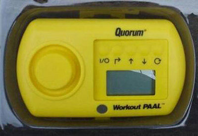 Quorum Workout Paal Taschenalarm / Workout-Trainer