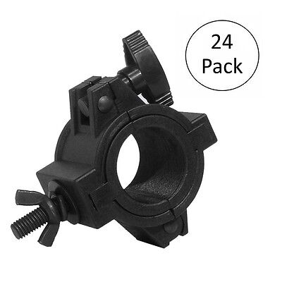 Chauvet 1-2 Inch Truss Light Mounting 75 lb. Capacity O-Clamp, 24 Pack | CLP-10