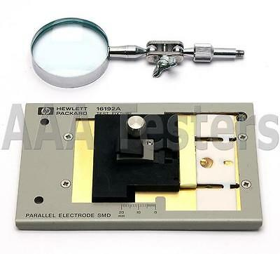 HP 16192A Parallel Electrode Surface Mounted Device Test Fixture SMD