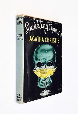 Sparkling Cyanide - Agatha Christie - Signed Copy Collins 1945 First Edition