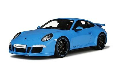 GT Spirit Porsche 991 Carrera S Aerokit Cup Blue LE 1000pcs 1:18 *New Item!