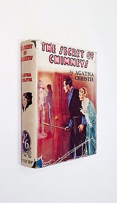 The Secret Of Chimneys By Agatha Christie - First Edition - The Bodley Head 1928