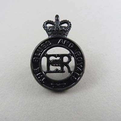 Military Badge The Blues & Royals ERII Bronze Finish Cavalry