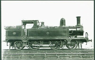 North Staffordshire Railway 2-4-2T No. 52. Real Photographs Broadstairs photo