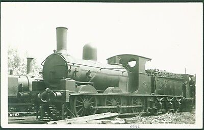 """Kent & East Sussex Rly 0-6-0 No.7, """"Rother"""" 'at Rolvenden, 1925'. PC Sized Photo"""